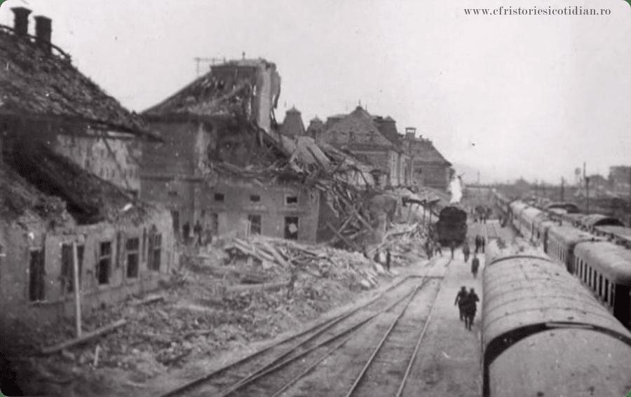 Evenimente tragice feroviare: Gara Cluj-Napoca, 2 iunie 1944
