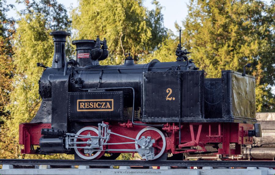 Muzee feroviare ale Romaniei - Muzeul Locomotivelor cu Abur din Reșița - locomtova Resicza